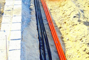 Breitbandverkabelung (LWL, Microduct, Microrohre)